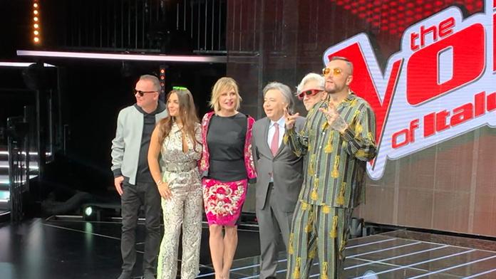 Risultati immagini per The Voice, Simona Ventura torna a casa Rai FOTO
