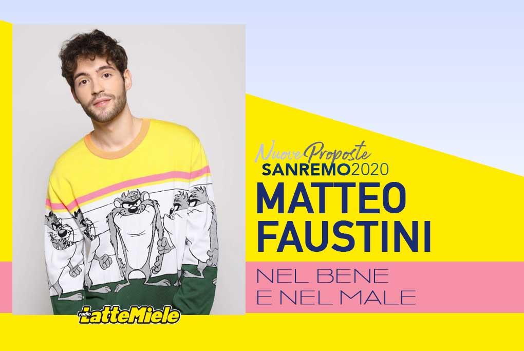 Sanremo 2020: Matteo Faustini
