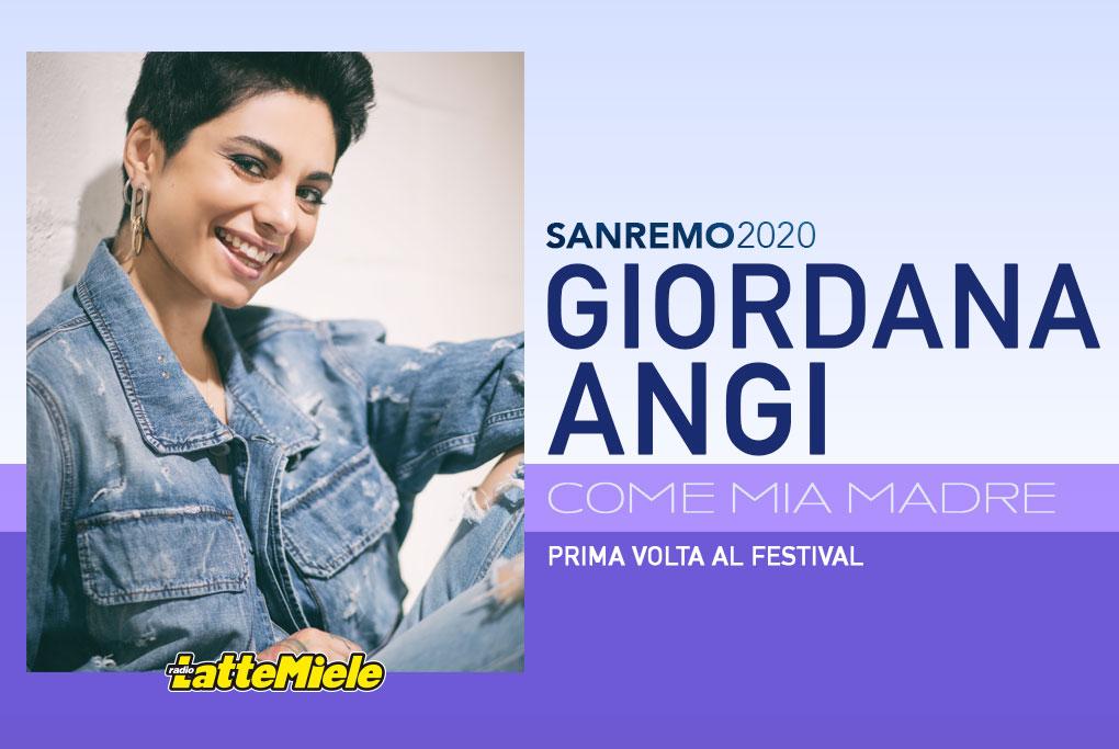 Sanremo 2020: Giordana Angi