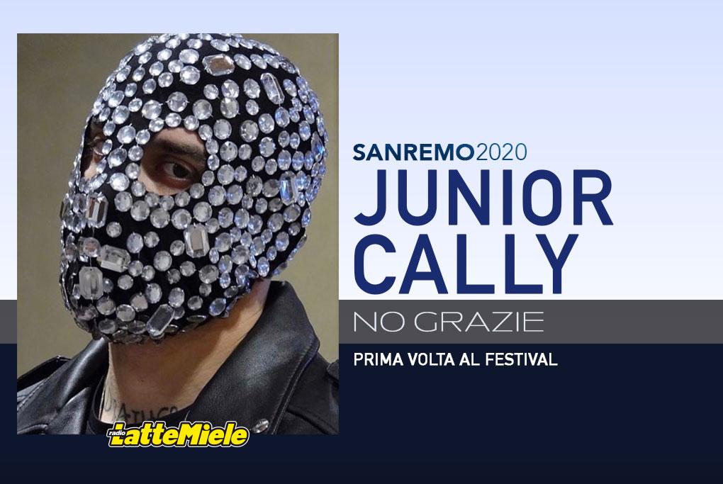 Sanremo 2020: Junior Cally