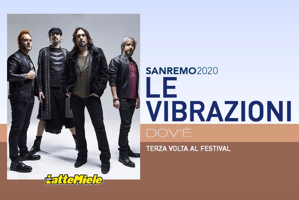 Sanremo 2020: Le Vibrazioni