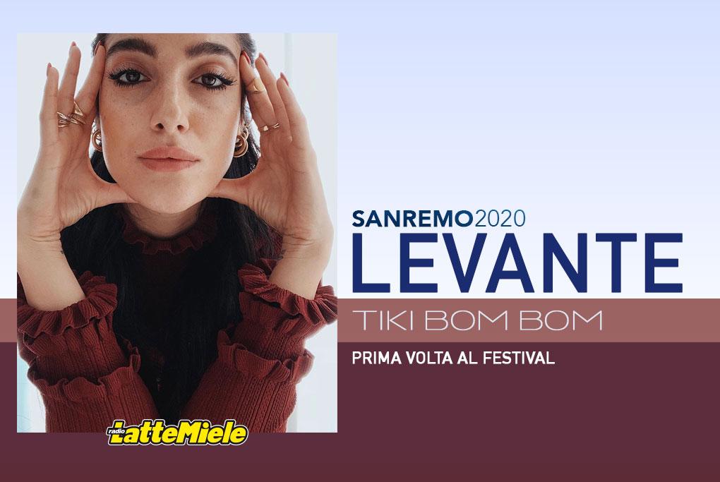 Sanremo 2020: Levante