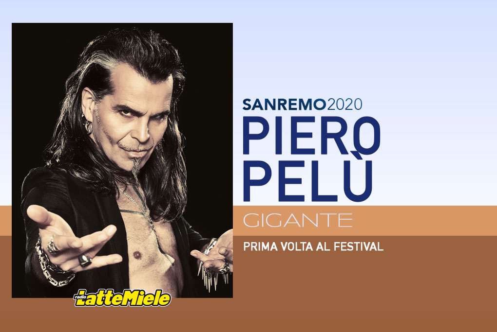 Sanremo 2020: Piero Pelù