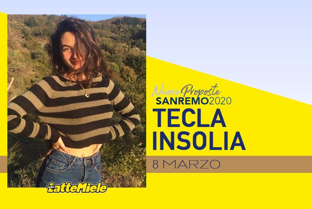Sanremo 2020: Tecla Insolia